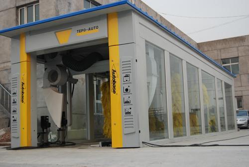 tunnel de machine de lavage de voiture tepo auto tp 901. Black Bedroom Furniture Sets. Home Design Ideas